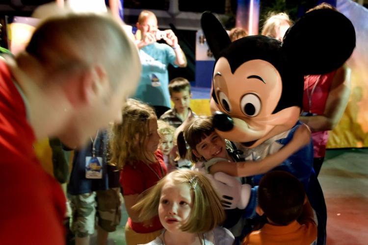 Parques temáticos de Orlando foram fechados repentinamente, em meados de março | Foto: Jim Watson | AFP - Foto: Jim Watson | AFP
