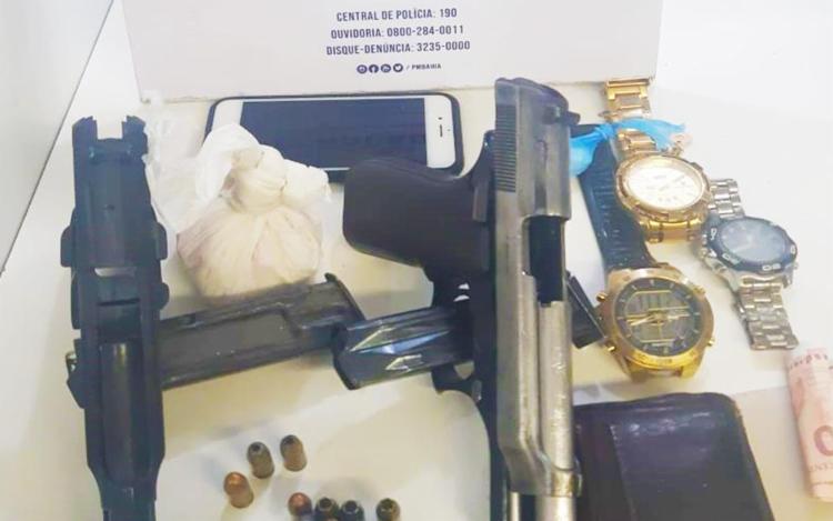 Material foi encontrado dentro de veículo | Foto: Divulgação | SSP - Foto: Divulgação | SSP