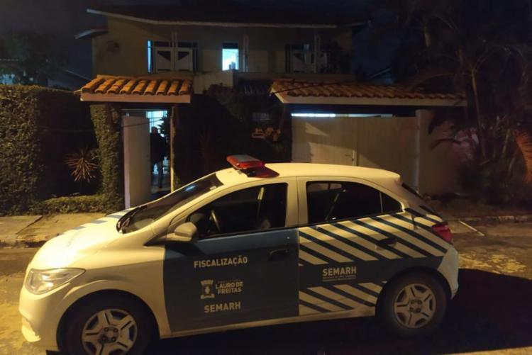 O flagrante ocorreu em uma ação de fiscalização | Foto: Divulgação SSP - Foto: Divulgação SSP