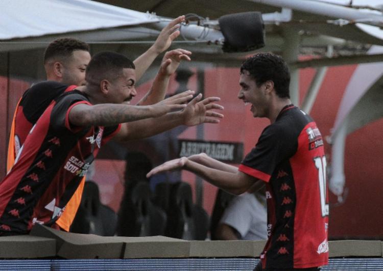 Vitória vivia bom momento nas três competições que disputava no início de temporada | Foto: Letícia Martins | EC Vitória
