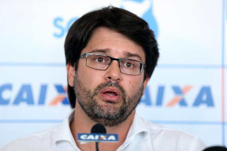 Presidente disse que o Bahia vai respeitar etapas para retorno às atividades | Foto: E.C.Bahia | Felipe Oliveira - Foto: E.C.Bahia | Felipe Oliveira