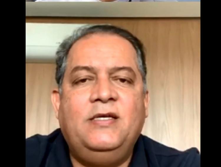 Senador Eduardo Gomes, líder do governo no Congresso, defendeu o posicionamento do presidente Jair Bolsonaro sobre as políticas de isolamento social - Foto: Reprodução   Instagram