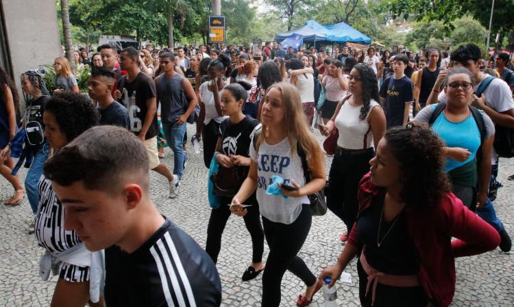 esta edição, 87% dos candidatos não precisaram pagar a taxa de inscrição   Foto: Fernando Frazão   Agência Brasil - Foto: Divulgação   MEC