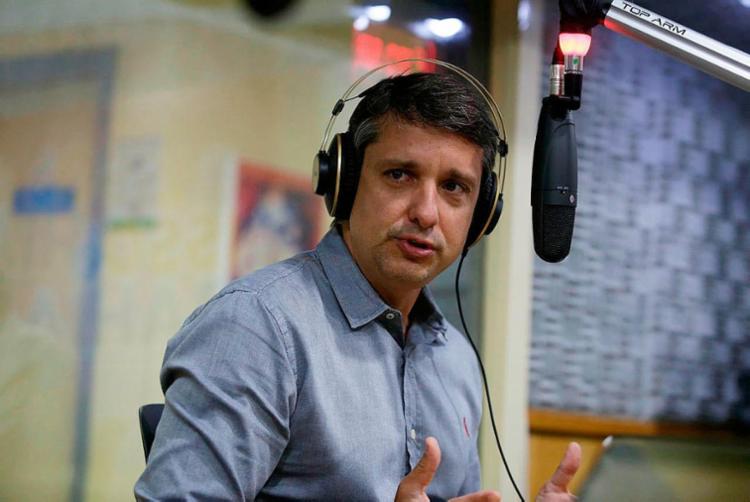 Em entrevista ao programa Isso é Bahia da A TARDE FM (103.9) o secretário de Mobilidade da cidade, Fabrizzio Muller, elencou os problemas a serem resolvidos na capital baiana. - Foto: Joá Souza | Ag. A TARDE