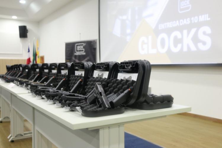 Armas serão distribuídas em Salvador e no interior do estado - Foto: Divulgação   SSP