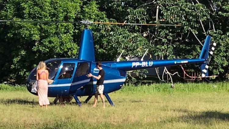 De acordo com a denúncia, a operação do helicóptero havia sido negada pela ANAC - Foto: Reprodução | BNews