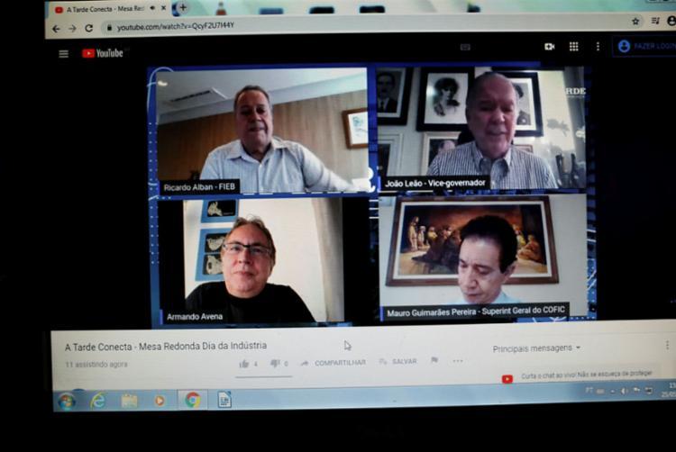 Mesa redonda, realizada no canal do jornal A TARDE no YouTube, discutiu os desafios da indústria - Foto: Raphael Müller | Ag. A TARDE
