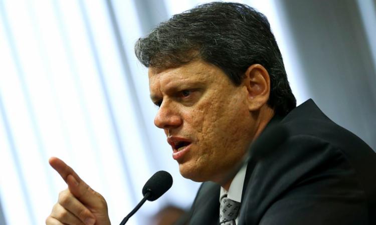 Segundo Tarcísio de Freitas, 2021 será um ano de recuperação econômica | Foto: Marcelo Camargo | Agência Brasil - Foto: Marcelo Camargo | Agência Brasil