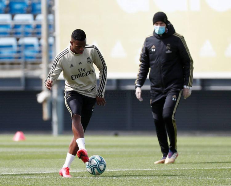 Treinos retornam após dois meses | Foto: Antonio Villalba | Real Madrid - Foto: Antonio Villalba | Real Madrid