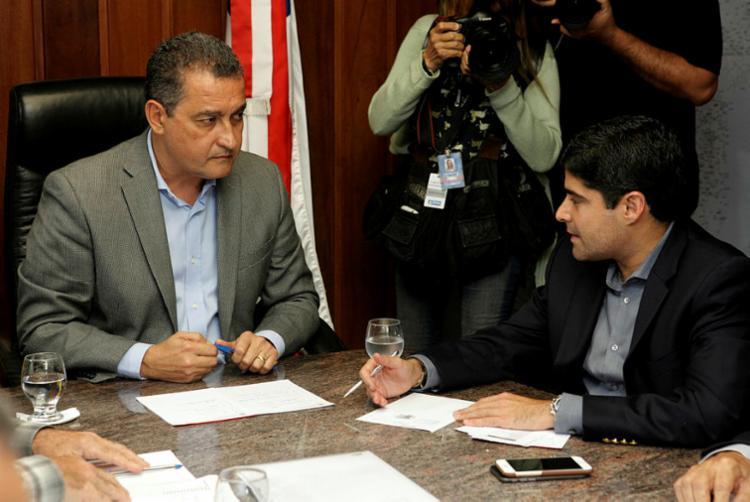 Governador e prefeito se uniram na mesma causa   Foto: Raul Golinelli   Divulgação - Foto: Raul Golinelli   Divulgação