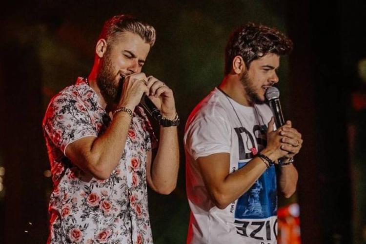 Zé Neto e Cristiano se apresentam no sábado, 16h, no canal do youtube da dupla - Foto: Divulgação|