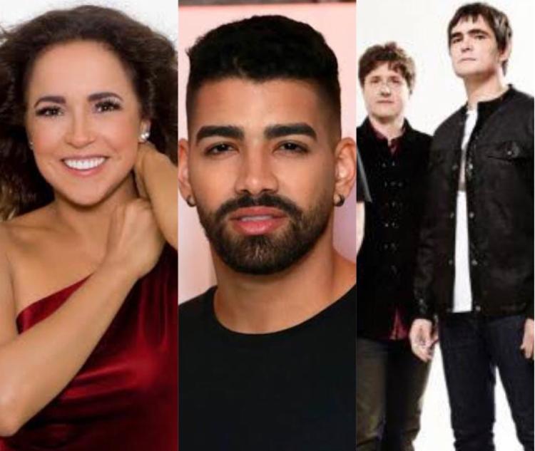 Daniela fará sua live na sexta, 29, Dilsinho e Skank se apresentam no sábado, 30 | Foto: Reprodução - Foto: Reprodução