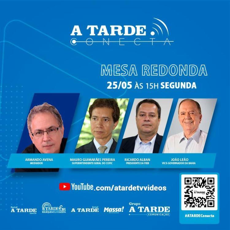 A mesa redonda será transmitida ao vivo, a partir das 15h, através do canal do A TARDE no youtube - Foto: Ag. A TARDE