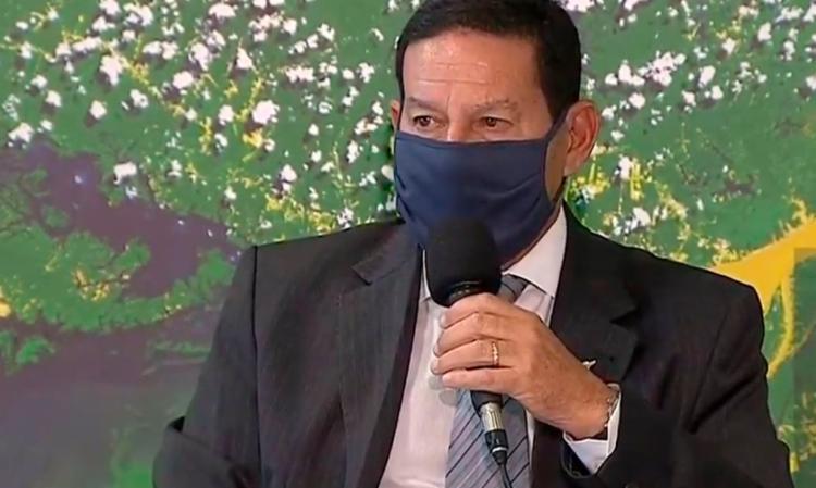 De acordo com a assessoria da vice-Presidência, Mourão não cumprirá expediente na segunda-feira,18. - Foto: Agência Brasil |