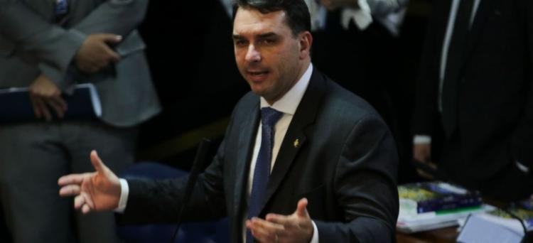 Segundo Marinho, Flávio Bolsonaro foi avisado por um delegado da PF sobre a Operação Furna da Onça | Foto: Fabio Rodrigues Pozzebom | Agência Brasil - Foto: Fabio Rodrigues Pozzebom | Agência Brasil