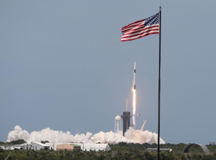 Missão é a mais perigosa confiada até hoje a uma empresa privada pela Nasa | Foto: Gregg Newton | AFP - Foto: Gregg Newton | AFP