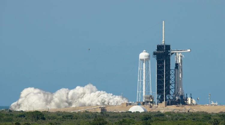Voo espacial será o primeiro a sair com tripulação de solo americano nos últimos nove anos | Foto: Bill Ingalls | NASA | AFP - Foto: Bill Ingalls | NASA | AFP