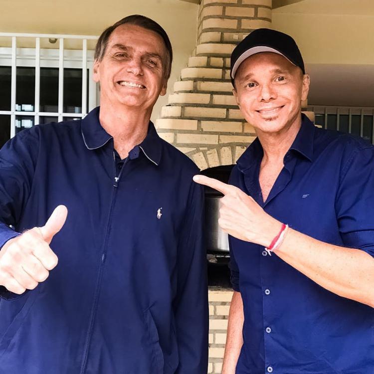 Netinho é apoiador ferrenho do presidente - Foto: Reprodução