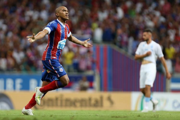 Nino Paraíba foi um dos destaques do time em 2019 | Foto: Felipe Oliveira | E.C.Bahia - Foto: Felipe Oliveira | E.C.Bahia