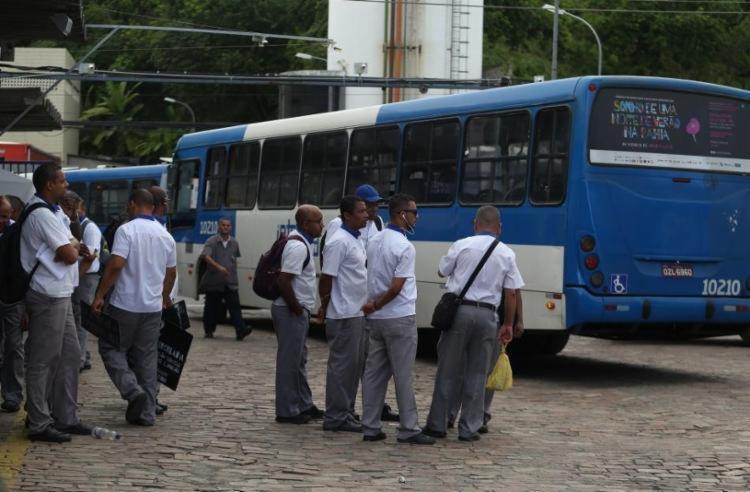 Rumores de paralisação iniciaram na semana passada   Foto: Joá Souza   Ag. A TARDE - Foto: Joá Souza   Ag. A TARDE