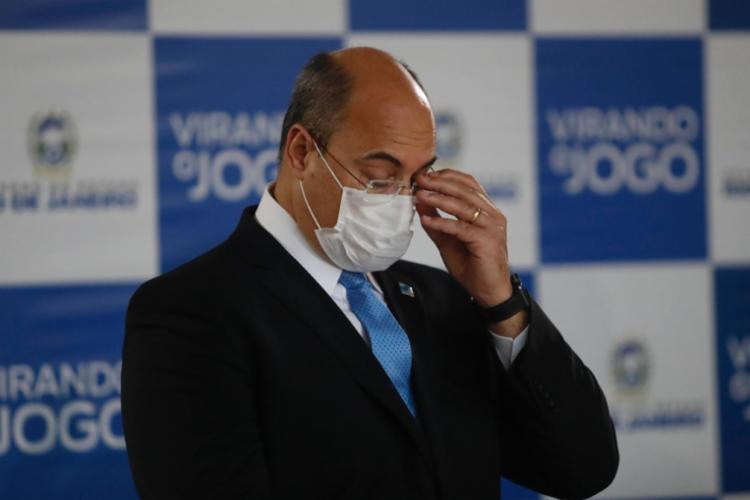 O governador do Rio, Wilson Witzel, é investigado por supostas fraudes na área de saúde - Foto: Divugação