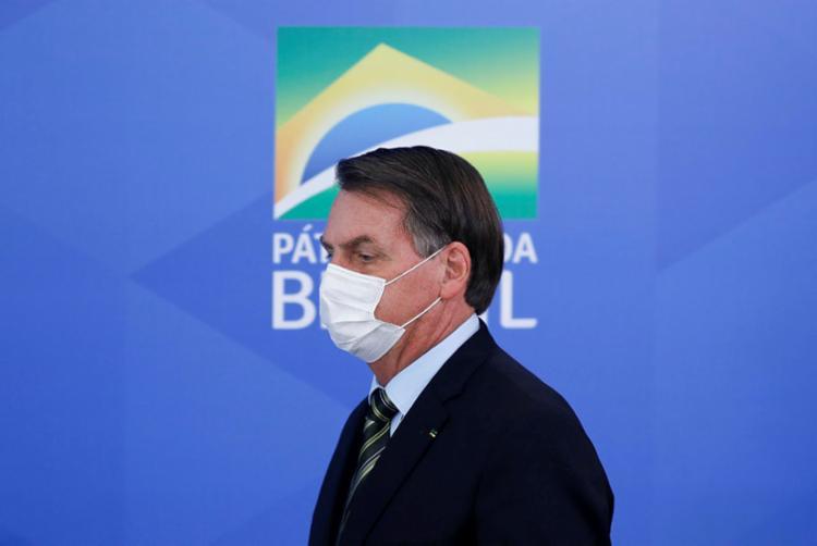 Pesquisa mostra que pandemia e denúncias do ex-ministro Sérgio Moro pouco impactaram o presidente   Foto: Sergio Lima   AFP - Foto: Sergio Lima   AFP