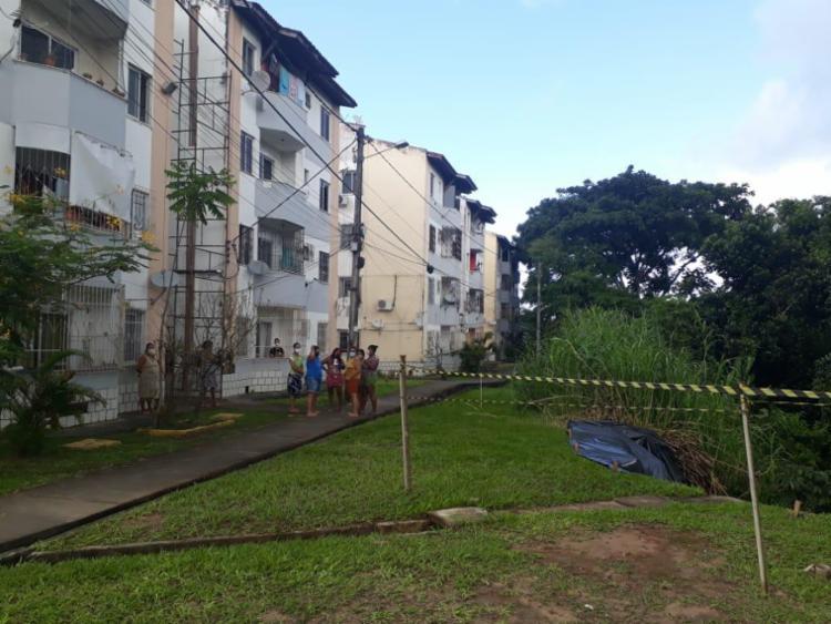 Situação preocupa moradores da localidade   Foto: Divulgação   Codesal - Foto: Divulgação   Codesal