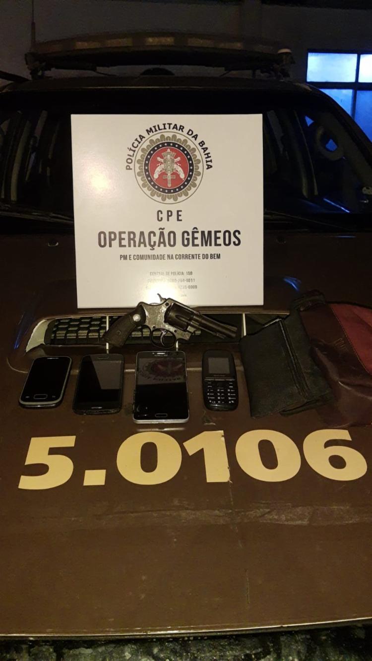 O suspeito foi preso logo após o crime | Foto: Divulgação | SSP - Foto: Divulgação | SSP