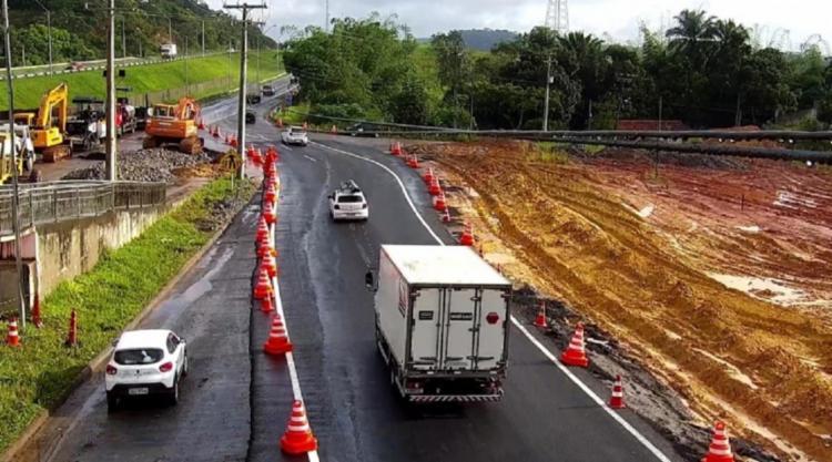 Condutores devem redobrar a atenção ao transitar pelo local   Foto: Divulgação   PRF - Foto: Divulgação   PRF
