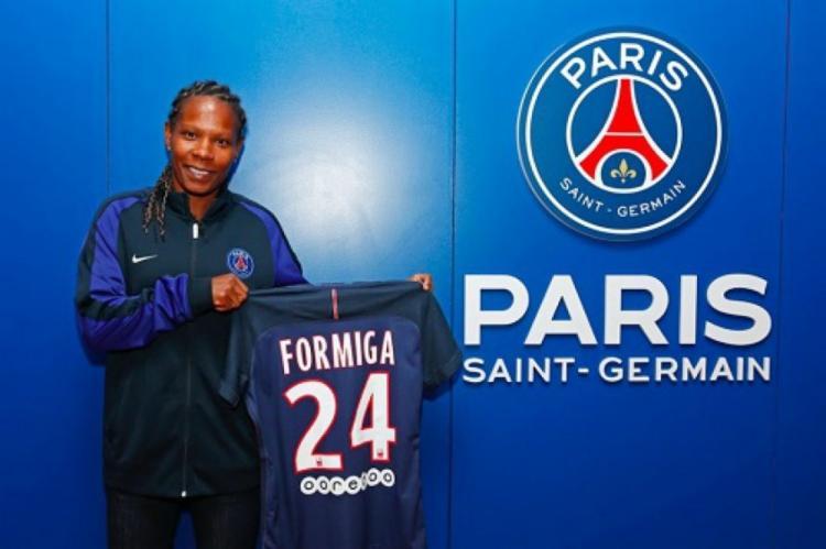 Formiga está na equipe francesa desde 2017 | Foto: Divulgação - Foto: Divulgação