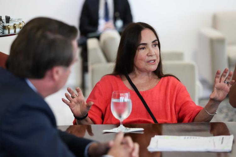 A atriz saiu da gestão da secretaria nesta quarta, 20, e assumirá a Cinemateca, que também é ligada à pasta |Foto: Marcos Corrêa | PR - Foto: Marcos Corrêa | PR