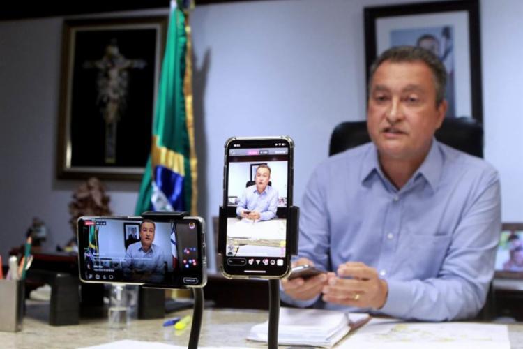 Governador falou que tem sofrido ameaças em suas redes sociais | Foto: Mateus Pereira | GOVBA - Foto: Mateus Pereira | GOVBA