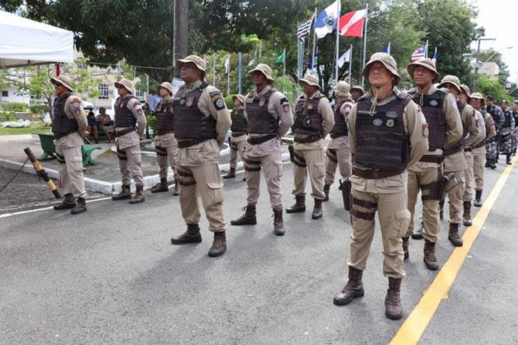 Policiais militares pagarão uma alíquota de 9,5% para o fundo de previdência da categoria - Foto: Divulgação | PMBA