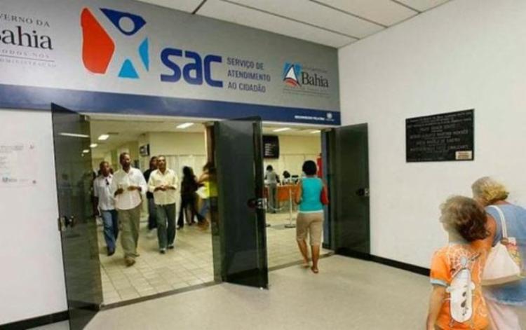 Em Salvador, serão reabertos os postos SAC de Cajazeiras, Comércio, Pau da Lima e Pernambués   Foto: Divulgação - Foto: Divulgação