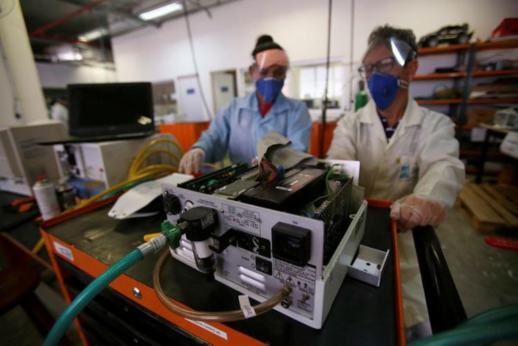 Senai-Cimatec desenvolve ações que contribuem com combate à Covid-19 e tratamento de pacientes na Bahia | Foto: Raphaël Müller | Ag. A TARDE - Foto: Raphaël Müller | Ag. A TARDE