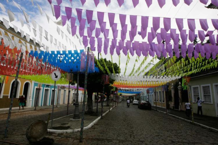 Festa aberta, repleta de grandes atrações, foi cancelada devido a pandemia   Foto: Mila Cordeiro   Ag. A TARDE - Foto: Mila Cordeiro   Ag. A TARDE