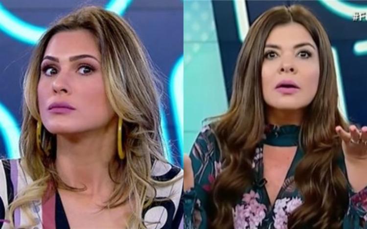 Apresentadoras Lívia Andrade e Mara Maravilha | Foto: Divulgação - Foto: DIvulgação | SBT