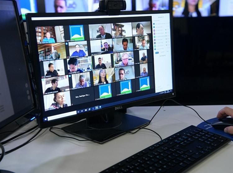 Reunião será feita por videoconferência com líderes de partidos e blocos partidários - Foto: Pedro França   Agência Senado