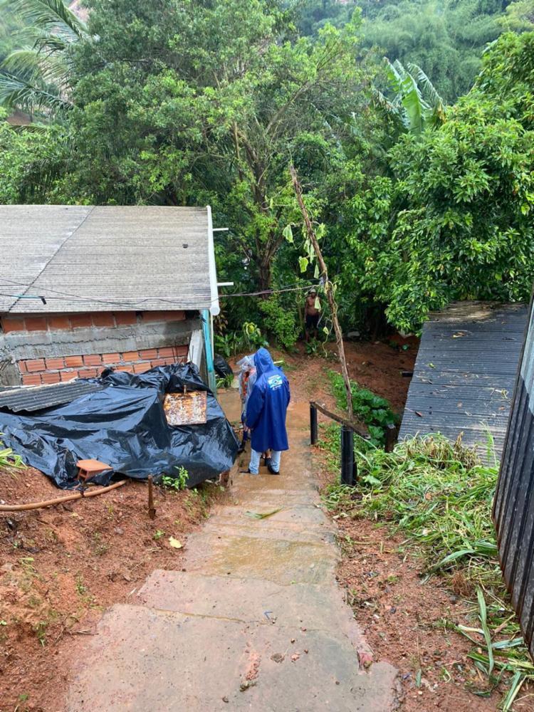Região registrou 153 mm de água nas últimas 72h | Foto: Divulgação | Codesal - Foto: Divulgação | Codesal