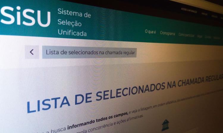 Vagas são oferecidas com base nas notas do Enem | Foto: Agência Brasil - Foto: Agência Brasil