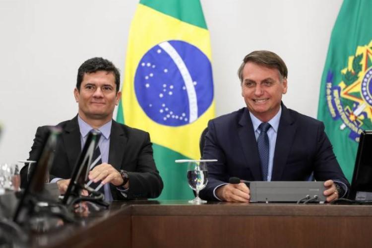 Inquérito decorre de afirmações de Sérgio Moro durante demissão   Foto: Marcos Corrêa   PR - Foto: Marcos Corrêa   PR