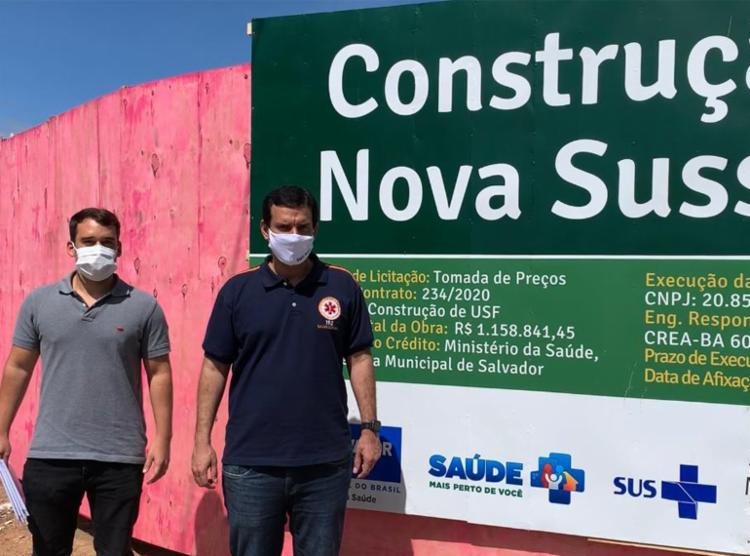 Ordem de serviço foi assinada pelo secretário municipal da Saúde Leo Prates | Foto: Divulgação | Secom - Foto: Divulgação | Secom
