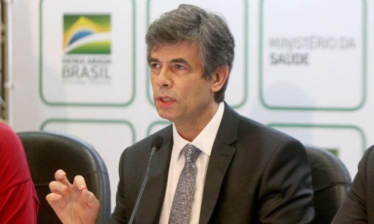 Nelson Teich faz pronunciamento sobre saída do governo | Foto: Erasmo Salomão | Ministério da Saúde - Foto: Erasmo Salomão | Ministério da Saúde