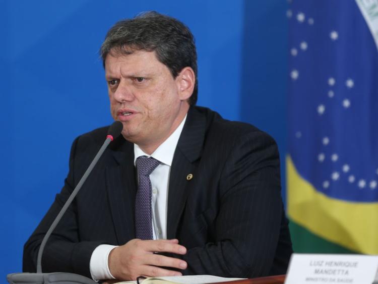 O ministro Tarcísio de Freitas foi entrevistado no programa Isso é Bahia desta quarta | Foto: Marcello Casal Jr | Agência Brasil - Foto: Marcello Casal Jr | Agência Brasil