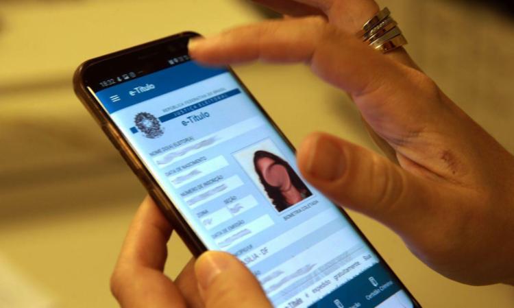 E-Título também serve como documento de identificação do eleitor caso ele já tenha feito o cadastramento biométrico | Foto: Marcello Casal Jr | Agência Brasil - Foto: Marcello Casal Jr | Agência Brasil