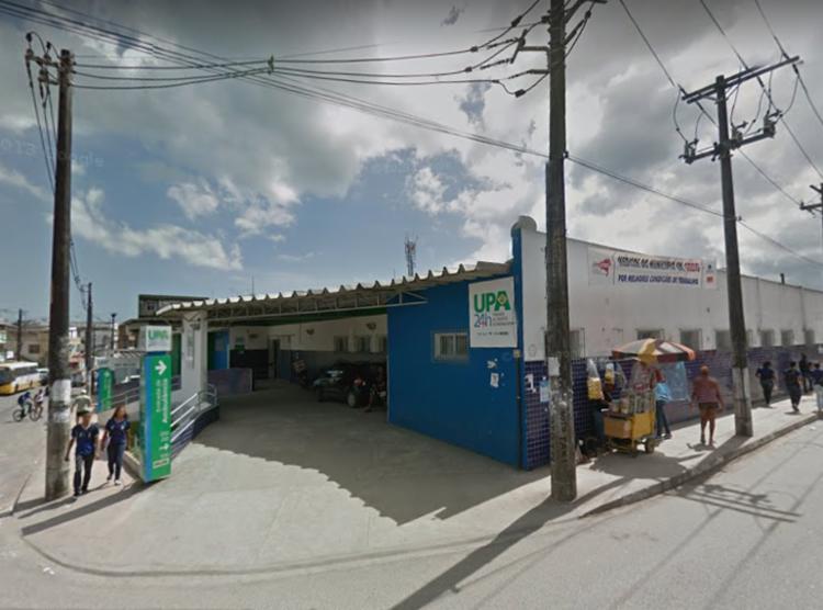Caso aconteceu na UPA Adroaldo Albergaria - Foto: Reprodução   Google Street View