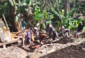Homem é soterrado em Cajazeiras XI; bombeiros estão no local | Foto: Divulgação | CBMBA