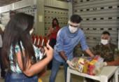 Mais de 22 mil cestas básicas estão sendo distribuídas em Salvador | Foto: Max Haack | Secom