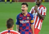 Em empate com Atlético, Messi marca 700º gol na carreira | Foto: Lluis Gene | AFP