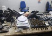Quadrilha suspeita de homicídio e tráfico é presa em Pernambués | Foto: Divulgação | SSP